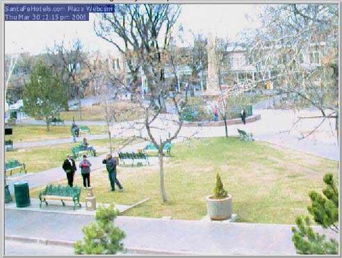 Santa Fe Webcam moment