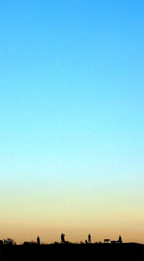 Runyon Canyon at Sunset
