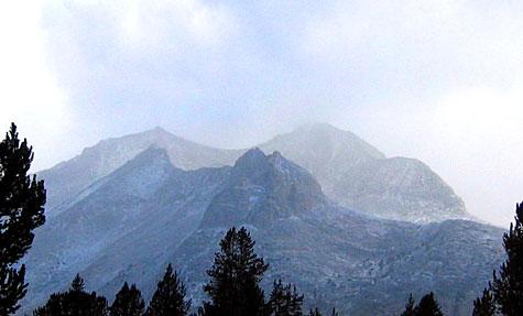 Cirque Crest north of Pinchot Pass, September 19, 2004