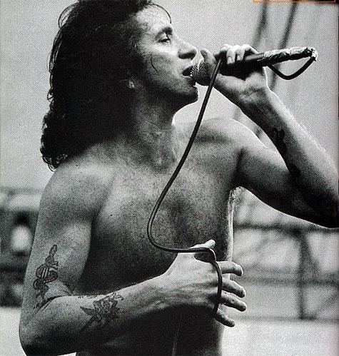 Bon Scott of AC/DC